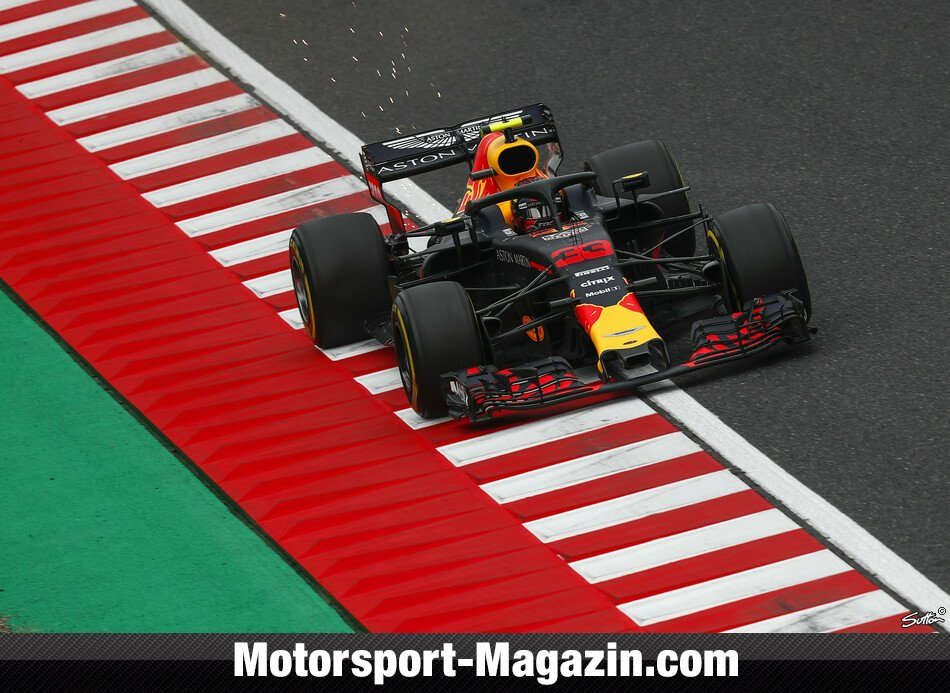 Formel 1 2018, Japan GP, Suzuka, Max Verstappen, Red Bull, Bild: Sutton